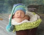 Newborn Knit Elf Hat-Ready to Ship