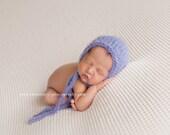 Newborn Lavender Heavenly Bonnet