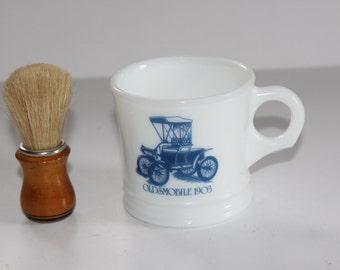 Vintage Oldsmobile 1903 Surrey  Shaving  Mug & Condor Shaving Brush