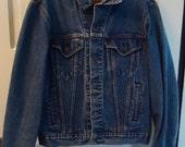 Vintage 1980s Levi's Jean Jacket sz M/L
