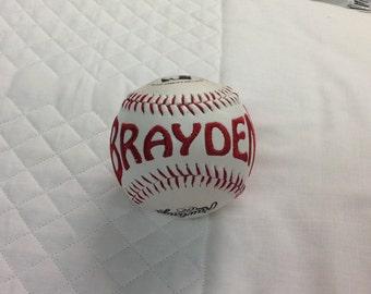 Embroidered Baseball/Softball