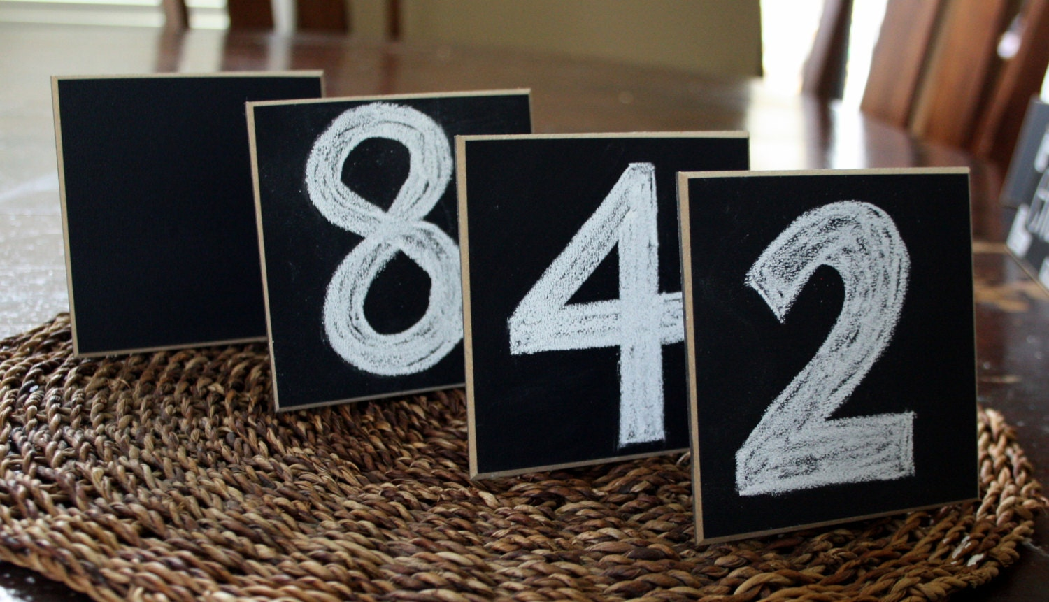 Chalkboard Place Cards Wedding Signs Table Markers