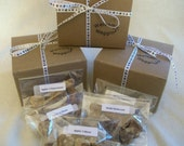 Gift Box, Party Gift for Dogs, Dog Treats, Dog Cookies, Dog Biscuits, Dog Treat Gift boxes, Welcome Waggin' dog treats
