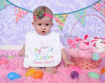 My First Easter, Easter, First Easter, Easter Bib, My First Easter Bib, First Easter Bib, Baby Shower Gift, Holiday Bib