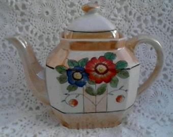 Lustreware Teapot