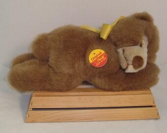 """Vintage Steiff """"Original"""" (082511) Sleeping Bear"""