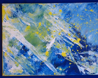 18x24 Untitled Acrylic on Canvas 023