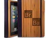 BrBa- Bamboo iPad Mini Case, Wood iPad Mini Case, iPad Mini Bookcase