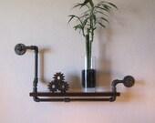 "24"" Single Pipe Shelf"