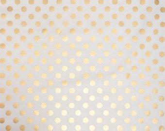 Gold Metalic Pillow - Designer Gold Dot - Caitlin Wilson - Gold Geometric Pillow Cover - Gold Home Decor- Gold White Pillow