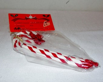 Vintage Candy Cane Ornaments