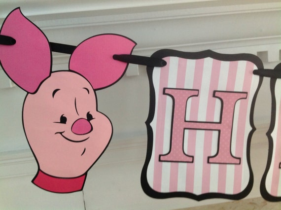 pink pooh with piglet - photo #29