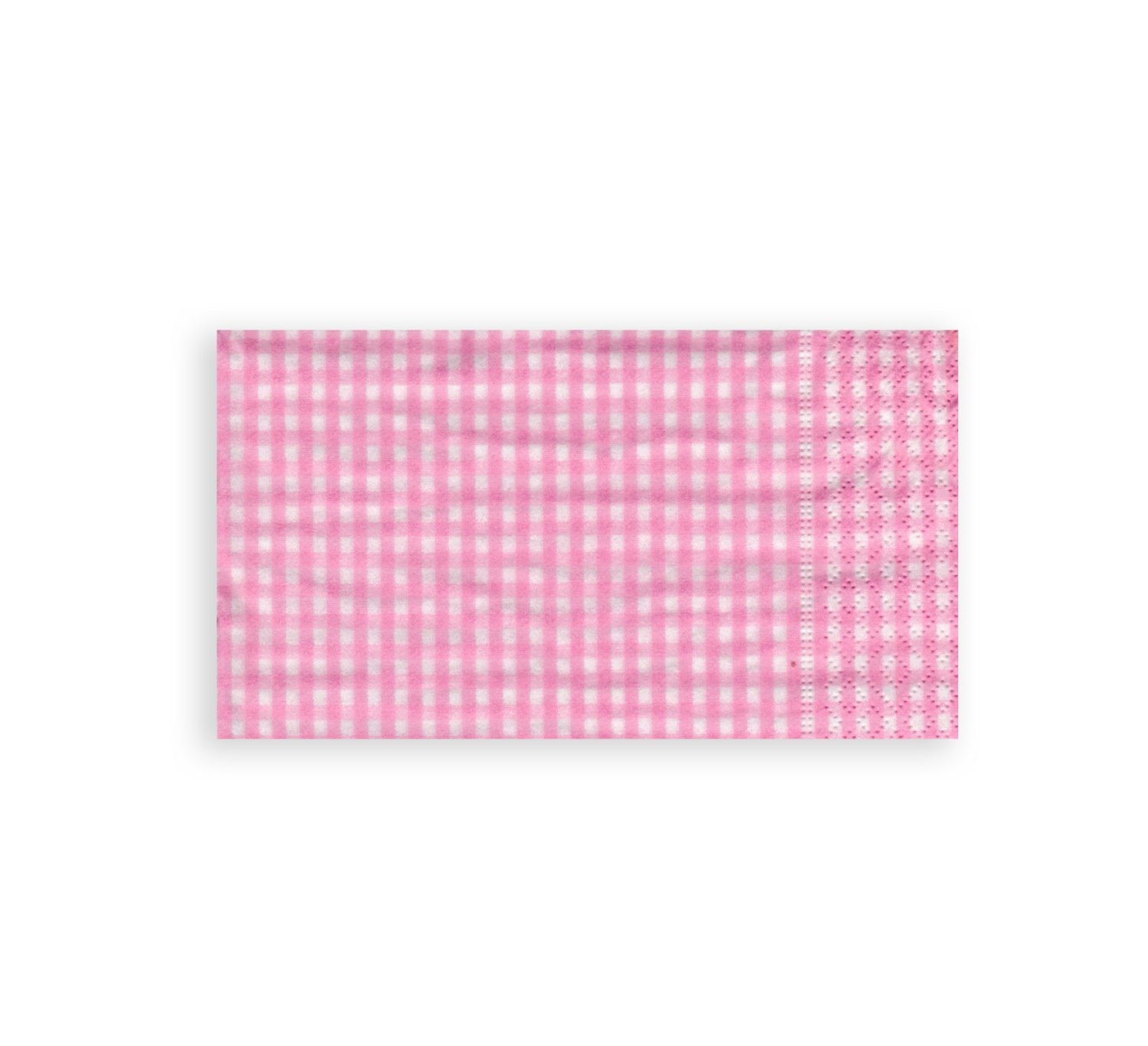 pink checkered paper napkins Results 1 - 21 of 21  plain tableware & candy buffet 150 x baby pink, gingham & polka dots cake  cases 2 x gingham patterned waterproof poly ribbon rolls.