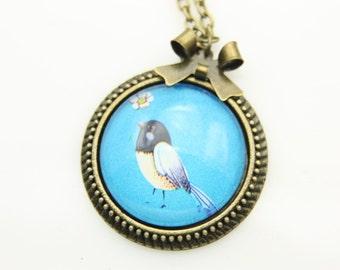 Necklace little bird  2525C