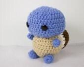 Crochet Pokemon Inspired Squirtle Amigurumi