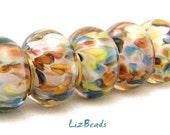 SRA Handcrafted Artisan Lampwork Bead Set - FAIR WINDS