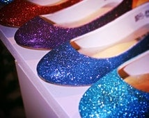 Made To Order Glitter Shoes - Signature Collection - Any color