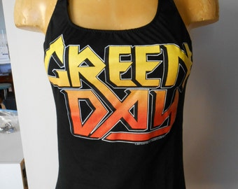 Green Day halter top Diy Punk Rock Band Music