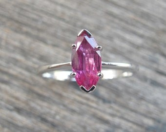 Ruby Rings- Silver Rings- Ruby Silver Ring- July Birthstone Rings-Gemstone Rings- Stone Rings- Promise Ring- Engagement Ring- Bridal Ring