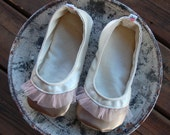 Ballet Flats, Baby - Toddler Girl Soft Soled Shoes