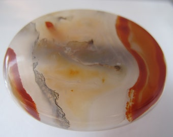 Victorian Pebble Stone AGATE Brooch 1800's Scottish Agate/Romantic Old Jewelry/Wear as Scatter Put em all on/ Victorian Jewelry Fascinations