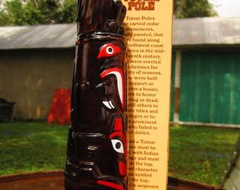 Awesome Vintage AVON Totem Pole Bottle with Original Box