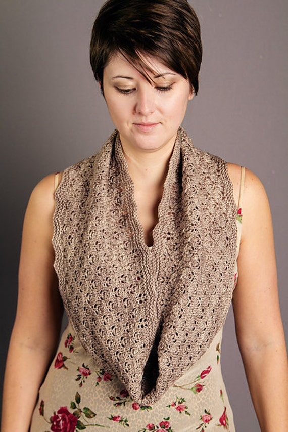 Paper Lanterns Cowl Kit - Contains: PDF Pattern and One Skein of Orion Yarn in Colorway of Choice