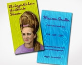 PRINTED -- BIG HAIR  - Business Cards - Hair Stylist - Humor - Retired