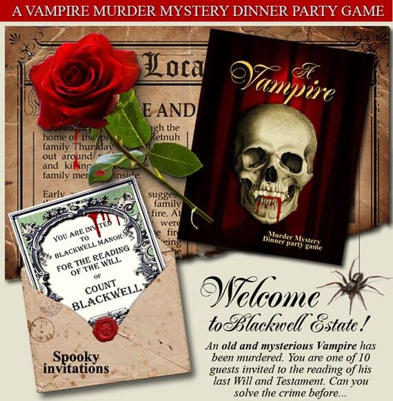 Murder mystery parties for teen girls