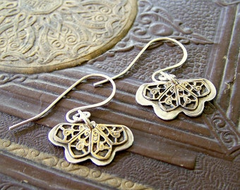 Sterling Silver Filigree Lace Earrings by ShesSoWitte