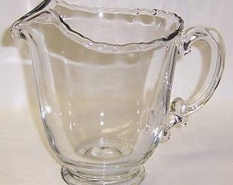 Fostoria Crystal CENTURY 7 Inch High Water or Beverage Pitcher