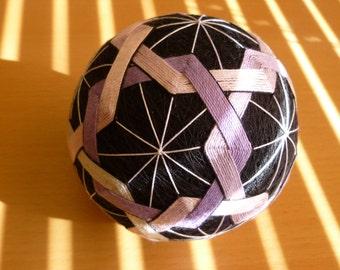 Temari ball - embroidered thread ball