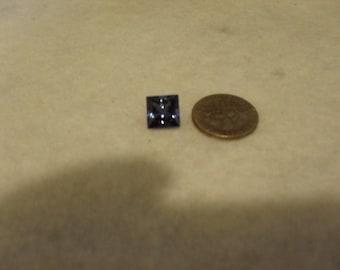 CERTIFIED TANZANITE - Drop Dead Gorgeous 3.05 Carats of Deep Blue D-Block Tanzanite in a Rare Princess Cut...