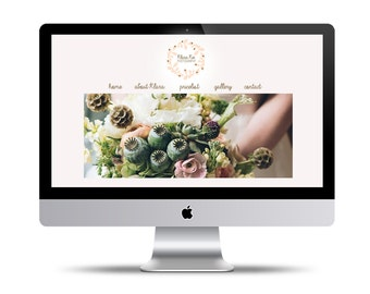 Custom 4Page Website Design + free Contact page/form; featured Blog + free year of hosting services