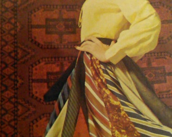 Two (2) Vintage Women's Tie Skirt and Squaw Skirt or Poncho Patterns