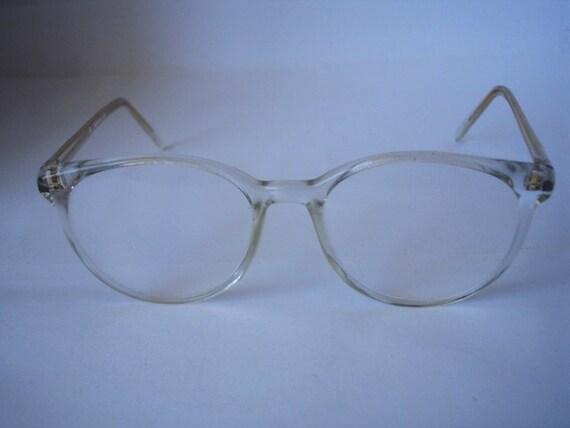 Vintage David Letterman Style Eyeglasses See Our Huge