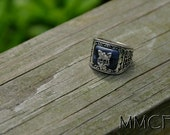 Vintage Vampire Diaries Jeremy Gilbert Family Antique Ring Gift for Him