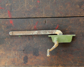 chippy green window crank open close arm