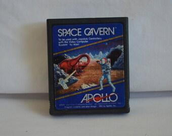 Atari 2600 Video Game: Space Cavern Apollo