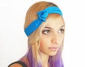 Blue Hairband Multiple Looks