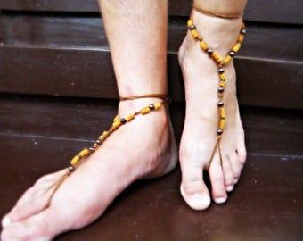 Men Barefoot Sandals Etsy