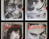 Pick a Month 1990 Interview Magazine by Andy Warhol OOP Back Issues