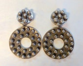 Brutalist Designer Scooter Paris Earrings