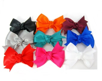 Baby Hair Bow Set, 9 Pack Hair Clip for Baby, Infant, Toddler, Girls