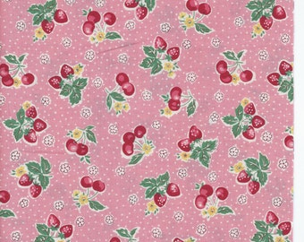 Small Fruit in Pink  from the 30's Collection by Atsuko Matsuyama for Yuwa of Japan