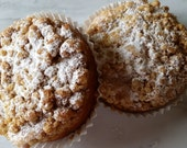 Gourmet Buttery NY Style Cinnamon Brown Sugar Crumb Cake