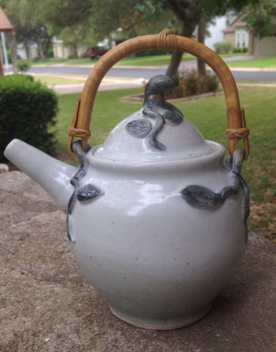 Hand Made Stoneware Tea Pot