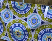 Choose Your Own Fabric Adjustable Crib Skirt - Custom Made to order, any colors or patterns, Simple, Pleated, Piped Edge