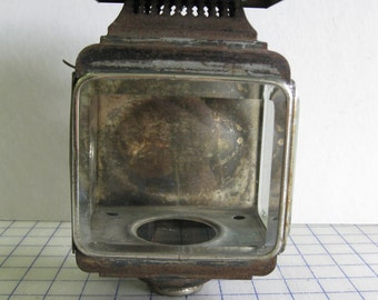 Antique carriage lantern