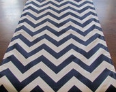 NAVY Blue TABLE RUNNER top Wedding Shower 13 x 72  Chevron Holiday Table Runners Table Cloth Decorative  baby shower home and Living